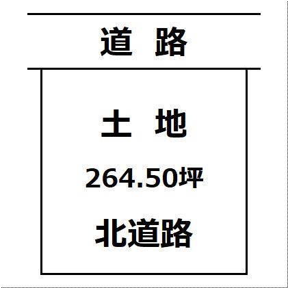 【土地図】大仙市刈和野 愛宕町の住宅用地