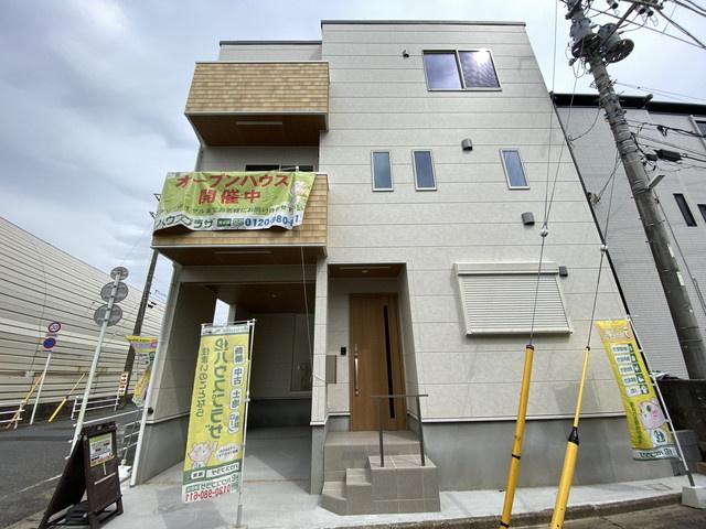 東京メトロ東西線「原木中山」駅徒歩7分の全3棟の新築一戸建てです。