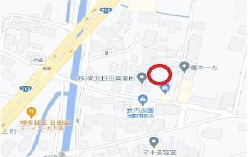 【地図】吹上町 住宅用地