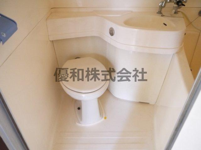 現況とは異なります。同タイプのお部屋のトイレとなります。参考です