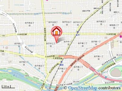 【地図】フォブールMⅡ