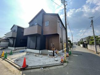 船橋市芝山 新築一戸建て 高根木戸駅 スタイリッシュな外観になってます!