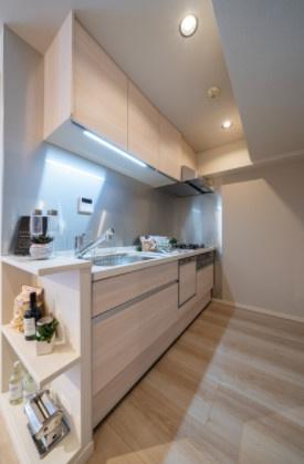 グレイス錦糸町:あると便利な食器洗浄機付きのシステムキッチンです!