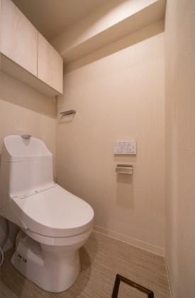 グレイス錦糸町:ウォシュレット機能付きトイレです!