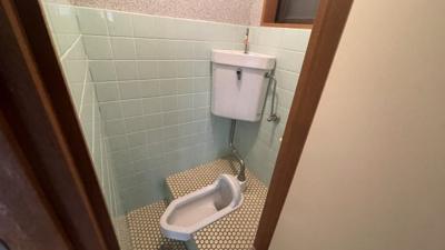 和式のトイレです。