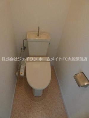 【トイレ】リリーハイツ