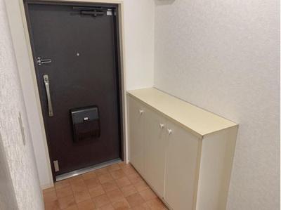 シューズボックス付きの玄関です。