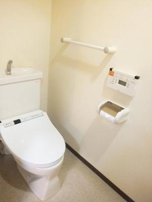 【トイレ】ライオンズマンション金剛寺池台