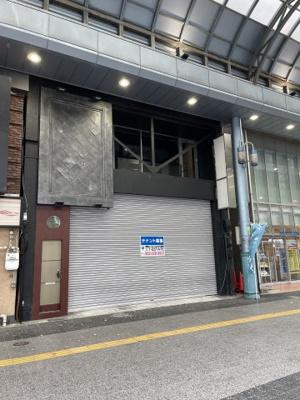 【外観】四日市駅前商店街店舗ビル(一棟貸し)