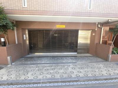 駐車場入口です。