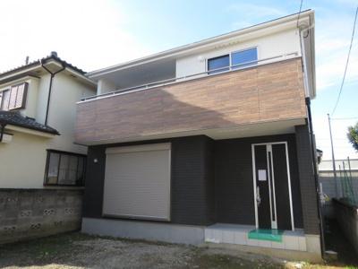 【外観】川越市広栄町 大型4LDK 新築戸建