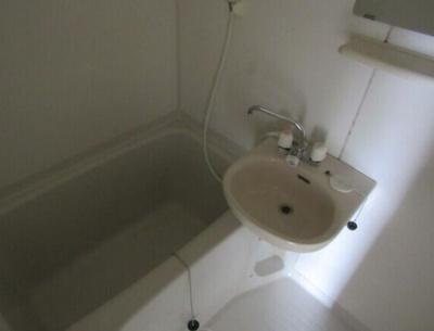 【浴室】朝日マンション