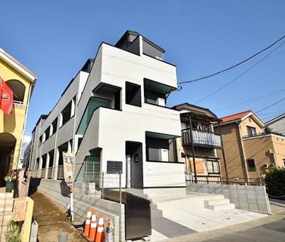 【外観】THE HOUSE 与野本町 Blanc(ザ ハウス ヨノホンマチ ブラン)