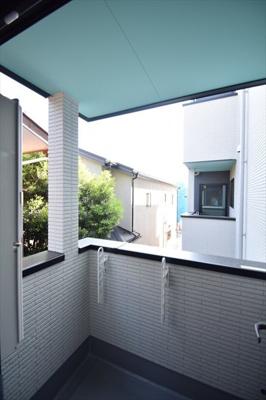 【バルコニー】THE HOUSE 与野本町 Blanc(ザ ハウス ヨノホンマチ ブラン)