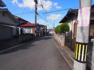【前面道路含む現地写真】田川市丸山町
