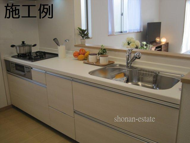 オールインワン上水詮つきキッチン! ※写真は施工例です。
