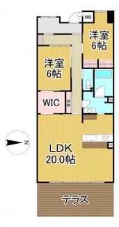 雲雀丘花屋敷ガーデンハウス 2階