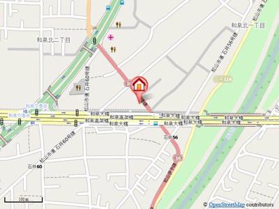 【地図】フローラTanooka