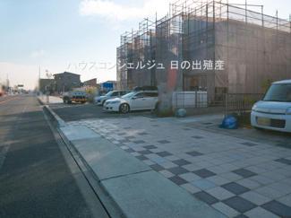 【外観】名古屋市港区秋葉3丁目30【仲介手数料無料】新築一戸建て