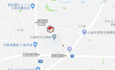 【地図】レオパレスOSAWA (39835-105)