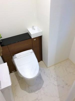 手洗付きのトイレです♪