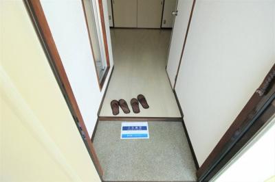 【玄関】八尾木グリーンハイツ