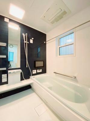 浴室暖房付き♪