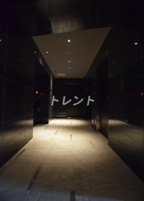 【ロビー】プレールドゥーク文京湯島