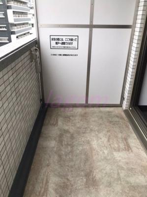 【バルコニー】S-RESIDENCE淀屋橋