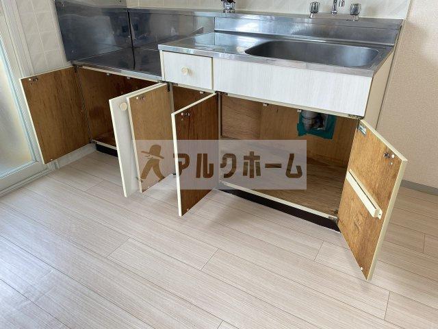 メゾンジュネス(柏原市法善寺) キッチン
