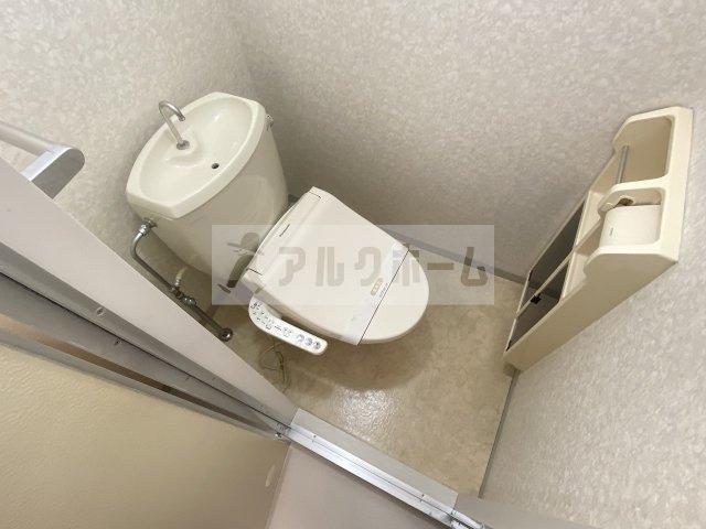メゾンジュネス(柏原市法善寺) トイレ