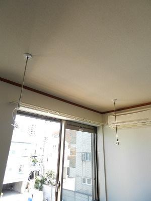 室内物干しスペース