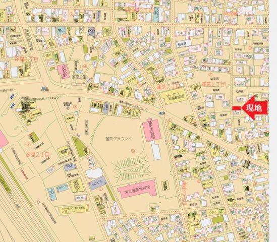 【地図】新宮市蓬莱