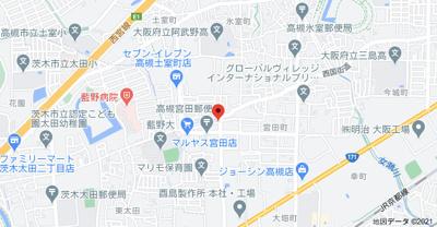 【地図】米山マンション㈱Roots