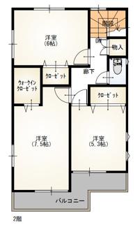 【間取り】東浦町石浜三本松の新築戸建て2号棟