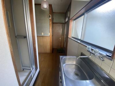 【キッチン】新野方 貸室
