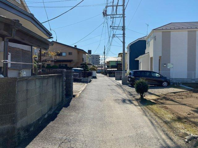 【前面道路含む現地写真】新築 茅ヶ崎市萩園