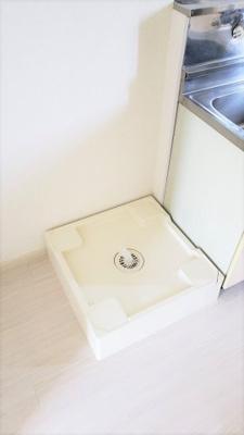 洗濯機置場です。アリエス本厚木