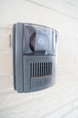 防犯としても役立つTVモニターホン付き。