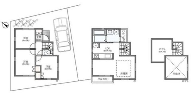 建物延床面積:65.10㎡