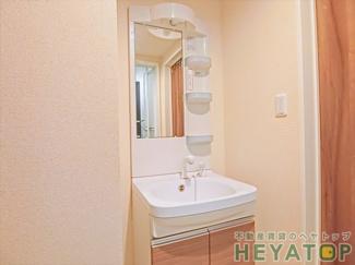 シャワー付き洗面化粧台(同仕様写真)