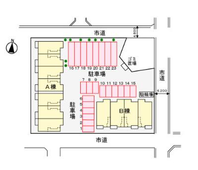 【区画図】ジェネロシティーα