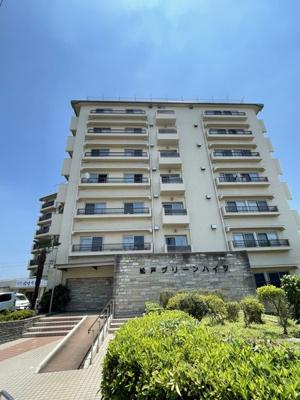 7階建ての大規模マンション総戸数128戸の5階。 南西向き 3DK広々バルコニー
