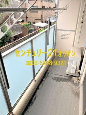 【バルコニー】デュオステージ鷺ノ宮(サギノミヤ)