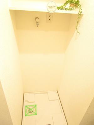 洗濯機置き場!