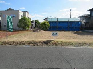 前面道路 北東側から撮影