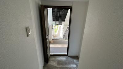 玄関前スロープあります