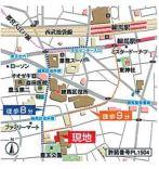 【地図】エルファーロ練馬