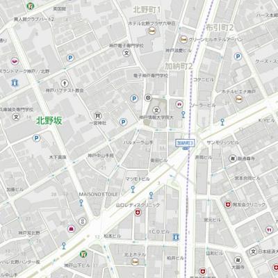 【地図】パルメーラ山手