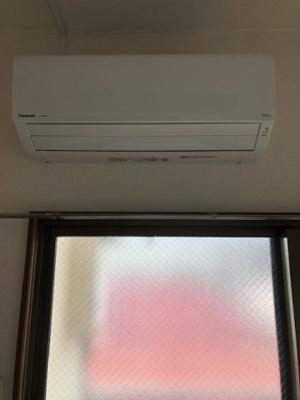 新品のエアコンです。